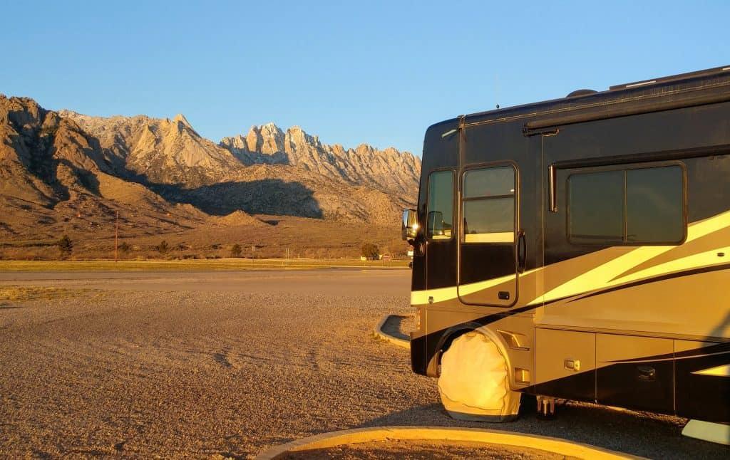 Campsite White Sands Missile Range White Sands New Mexico