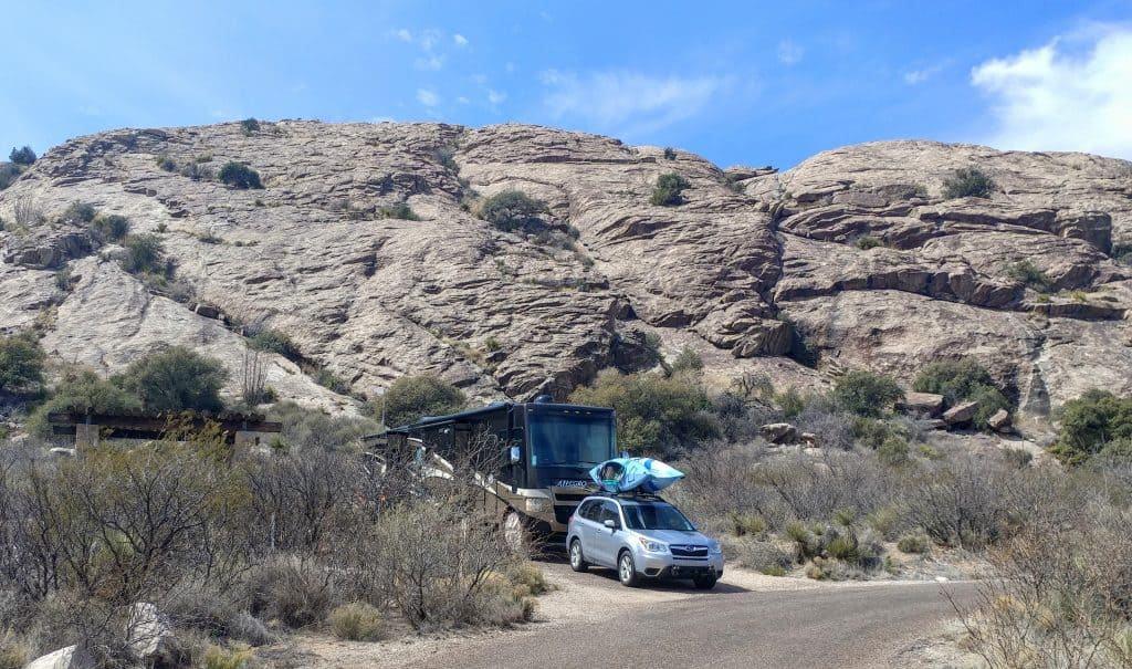 Campsite Hueco Tanks El Paso Texas