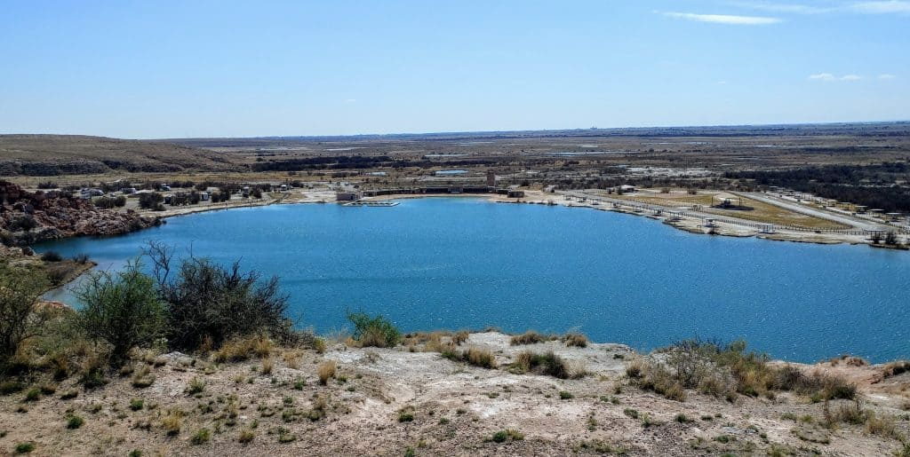 View Bottomless Lakes State Park New Mexico