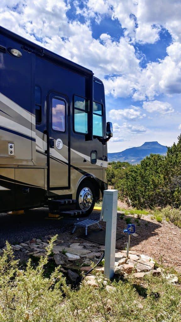 Campsite View Abiquiu Lake Gallina New Mexico