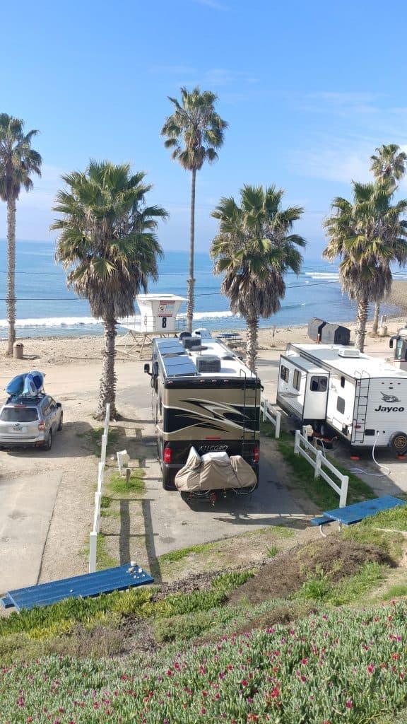 Campsite View San Onofre California