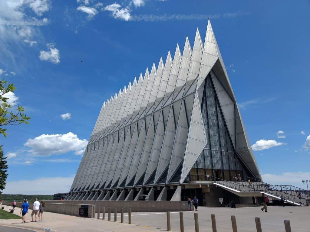 View Air Force Academy Chapel Colorado Springs Colorado