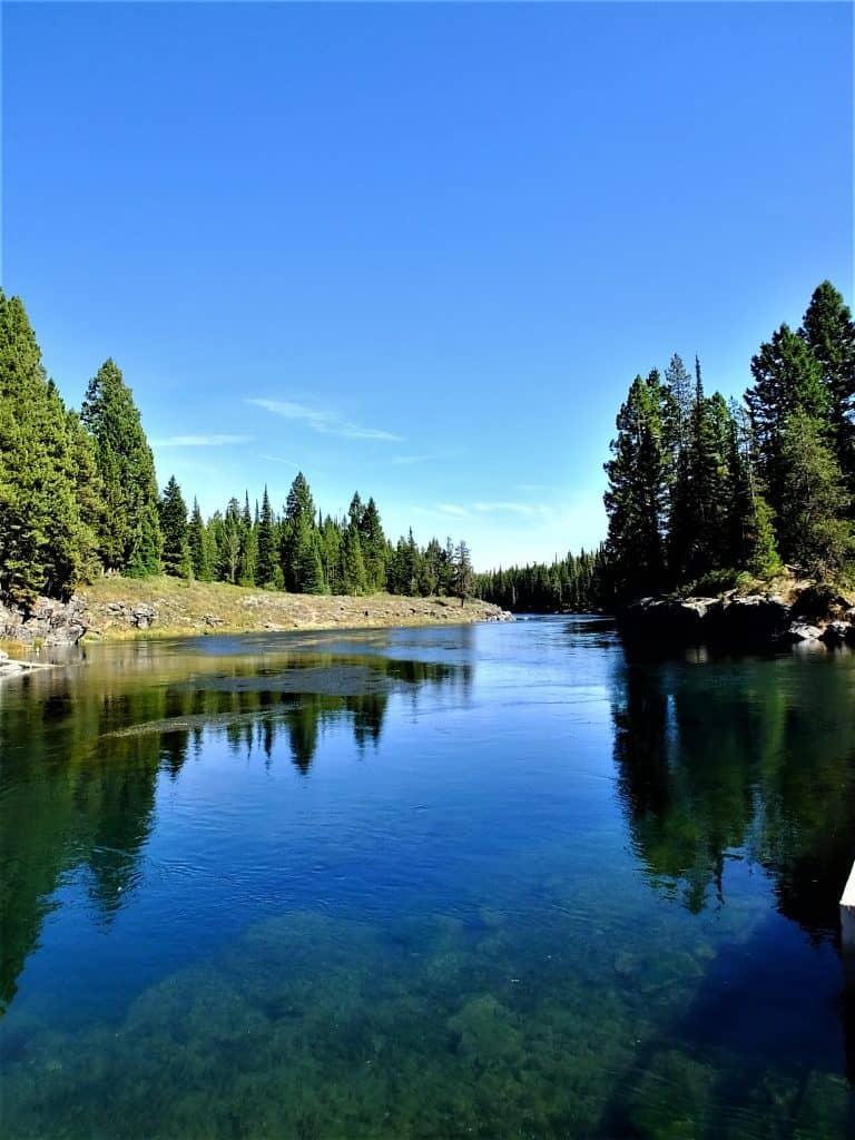 Buffalo River Island Park Idaho