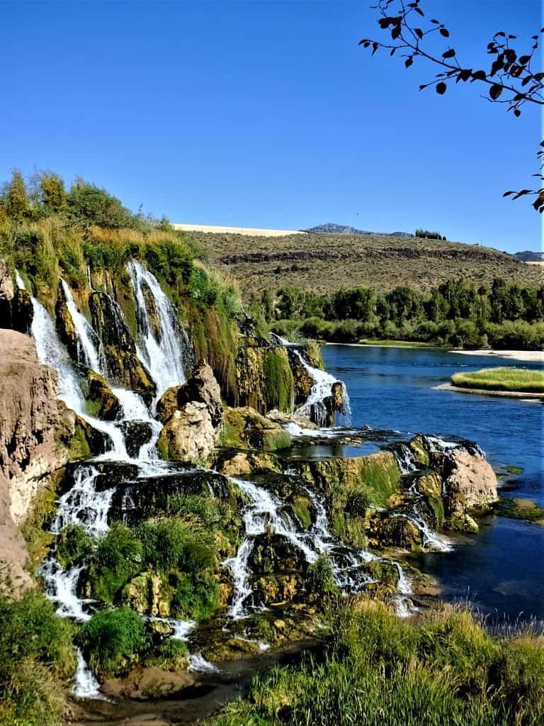 View Fall Creek Falls Swan Valley Idaho