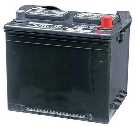 Stock Photo 12 volt Flooded Lead Acid Battery