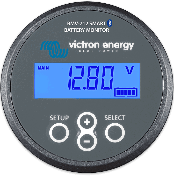 Stock Photo Victron Battery Monitor