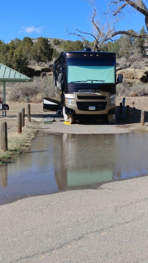 Campsite Navajo Lake Farmington New Mexico