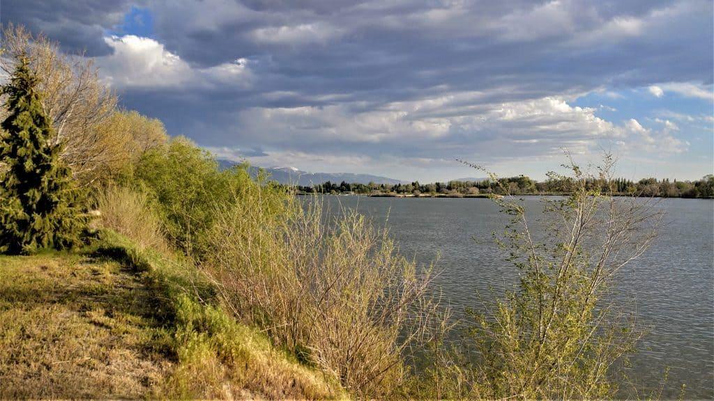 Snake River Valley view near Burley Idaho