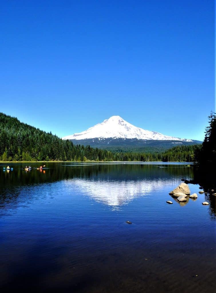 Mount Hood view Sandy Oregon