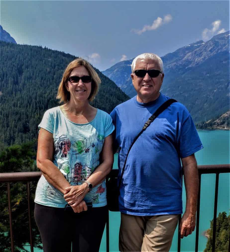 Scott and Tami at Diablo Lake