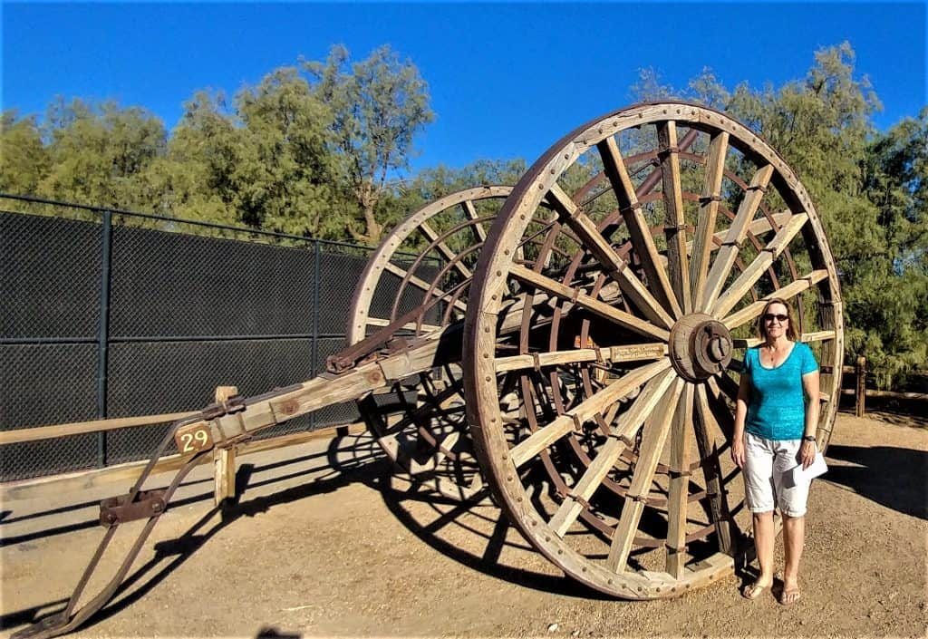 Logging Wagon, Death Valley, California