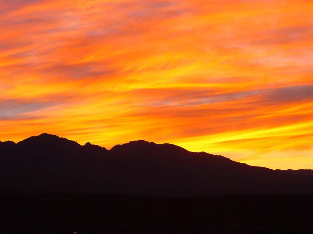 Sunrise, Death Valley, California