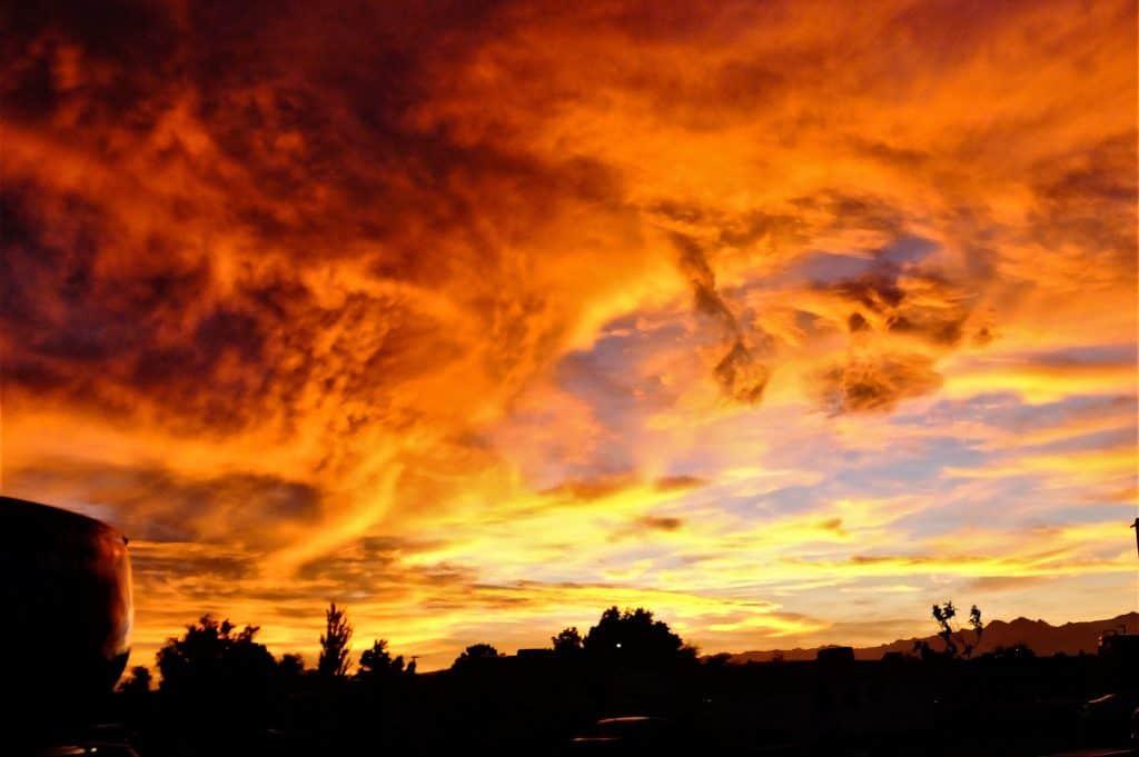Sunset Death Valley National Park