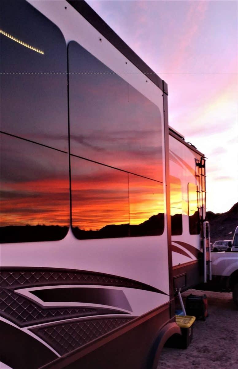Sunset Reflection Arizona