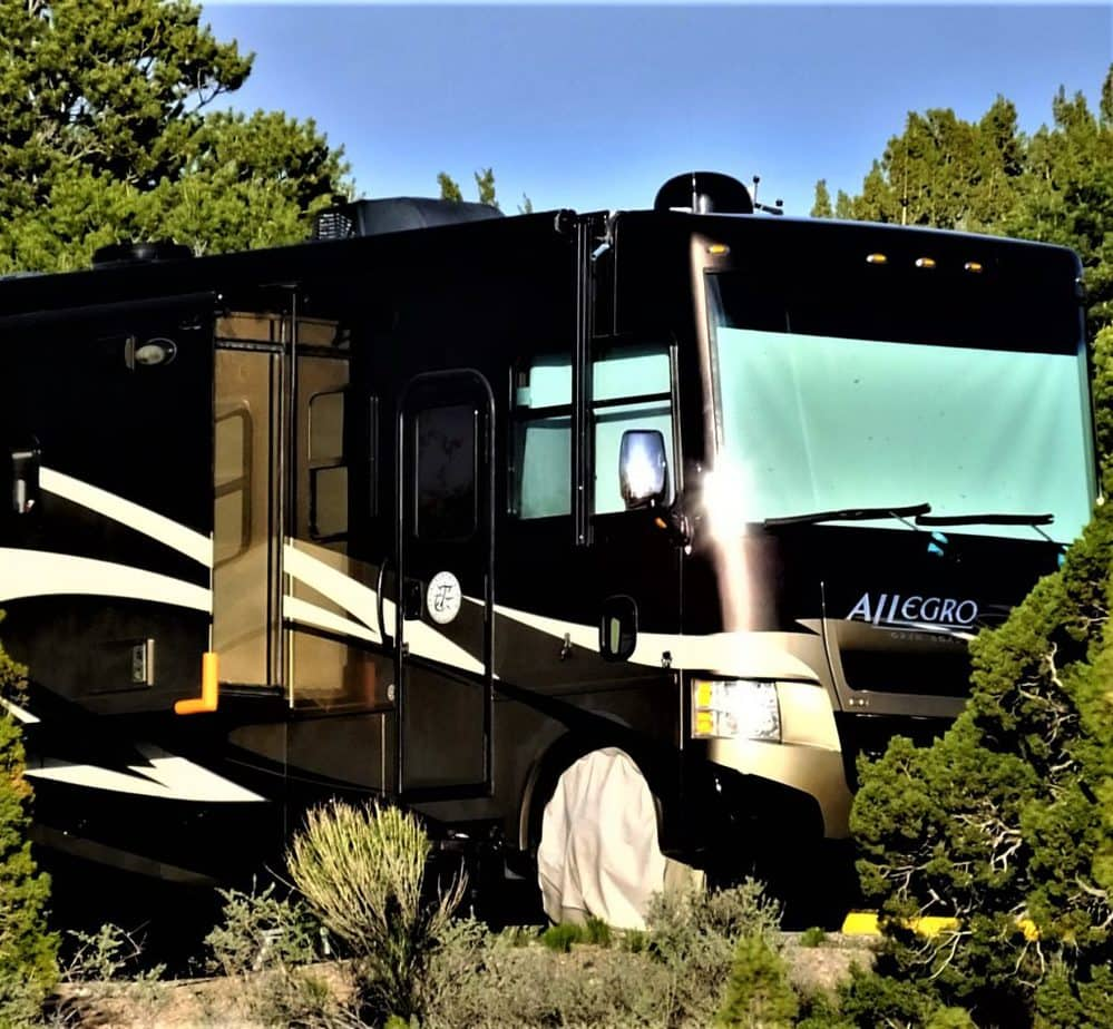 Our RV in New Mexico
