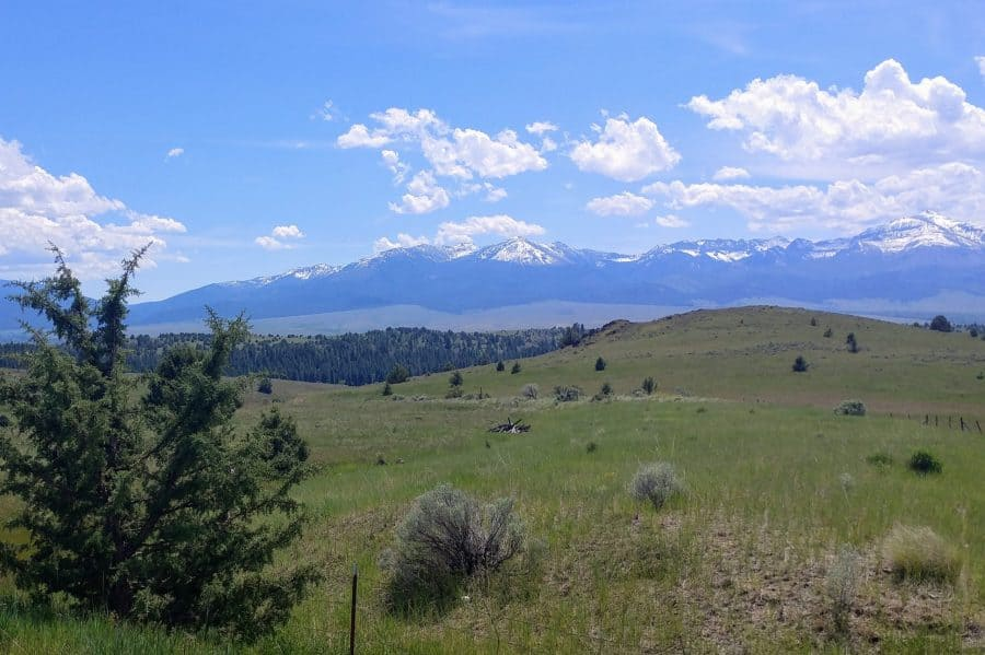 Oregon Mountains east of John Day