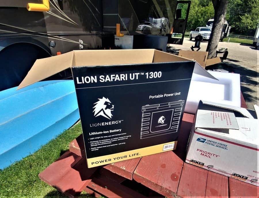 Lion Energy Battery (box)