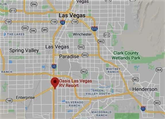 "Campsite Review: Oasis Las Vegas ""Campground"""
