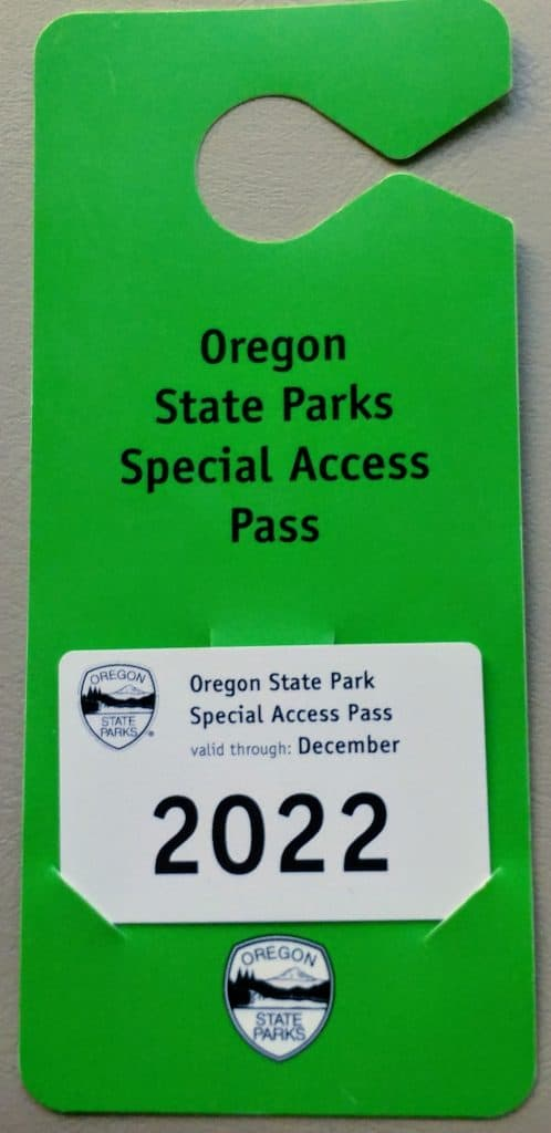 FoxRVTravel-Snippet: Oregon State Parks Special Access Pass