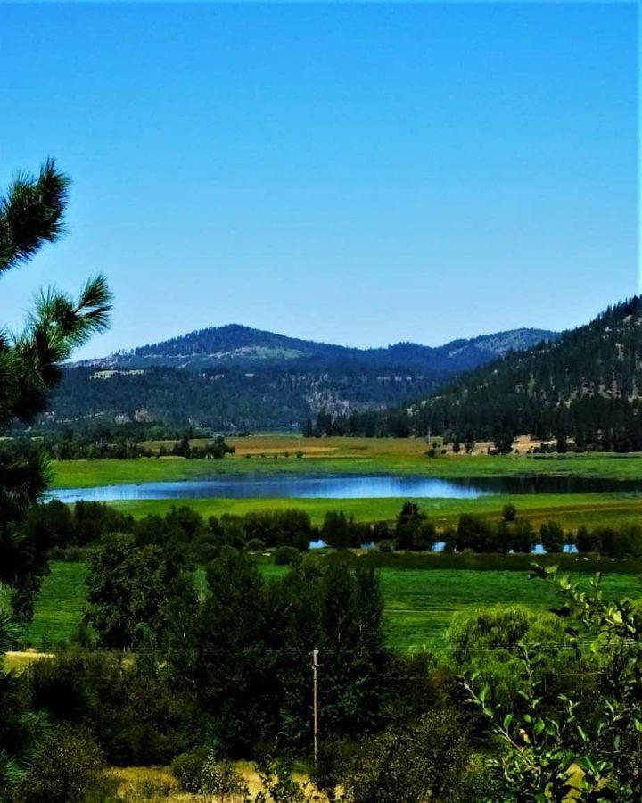 Lake near Medimont Idaho Stunning beauty in northern Idaho