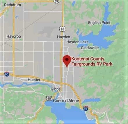 Campsite Review: Kootenai County Campground