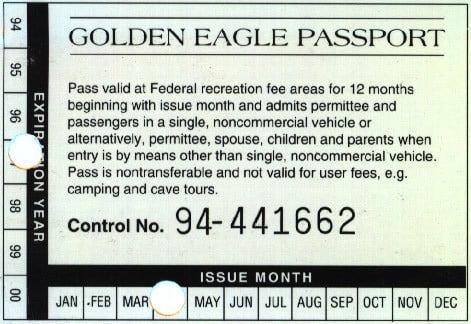 Golden Eagle Passport Annual