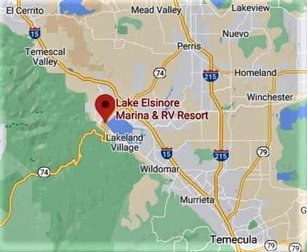 Campsite Review: Lake Elsinore West Marina Campground