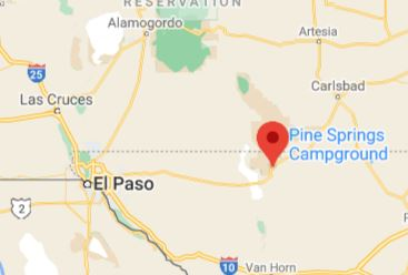Campsite Review: Pine Springs Campground
