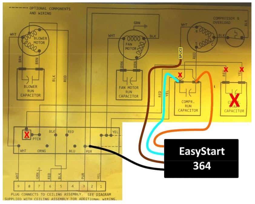 EasyStart 364 Wiring Diagram