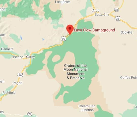 Campsite Review: Lava Flow Campground