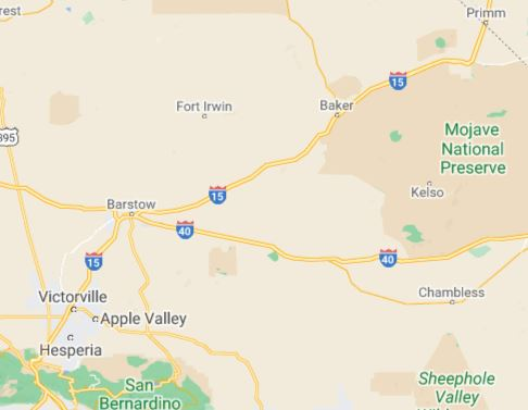 Interstate 15 - Bad Roads for RVs