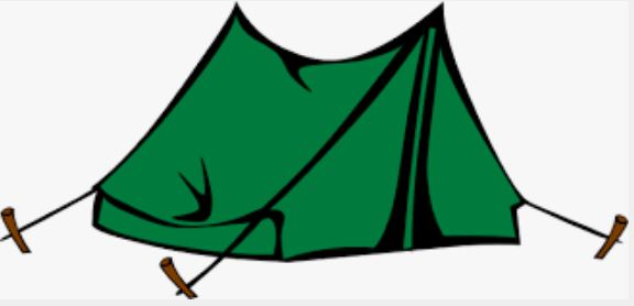 Who can stay at military campgrounds