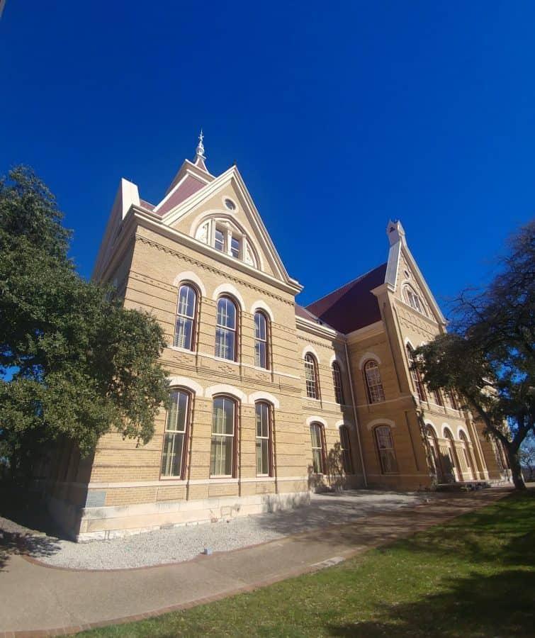 Main Building Texas State University, San Marcos Texas