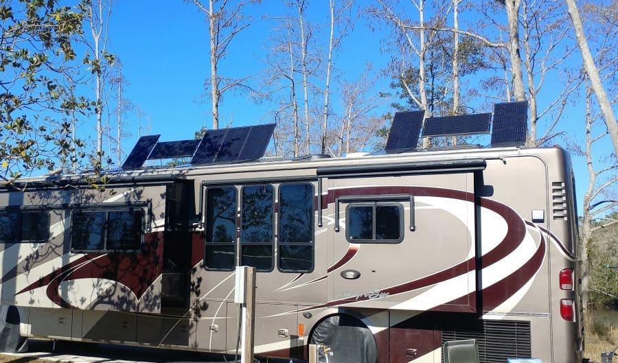 Too many solar panels!