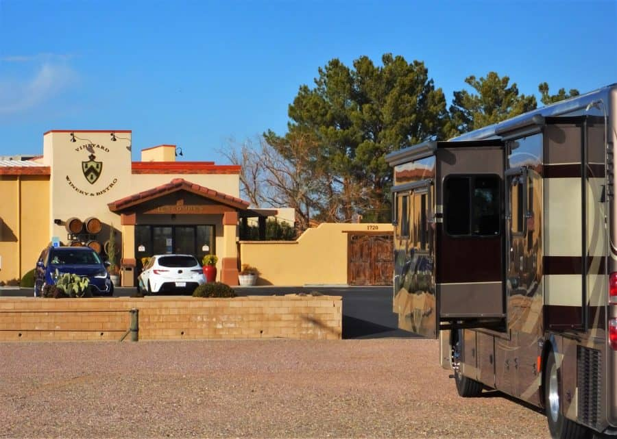 Harvest Host D.H. Lescombes Winery Las Cruces