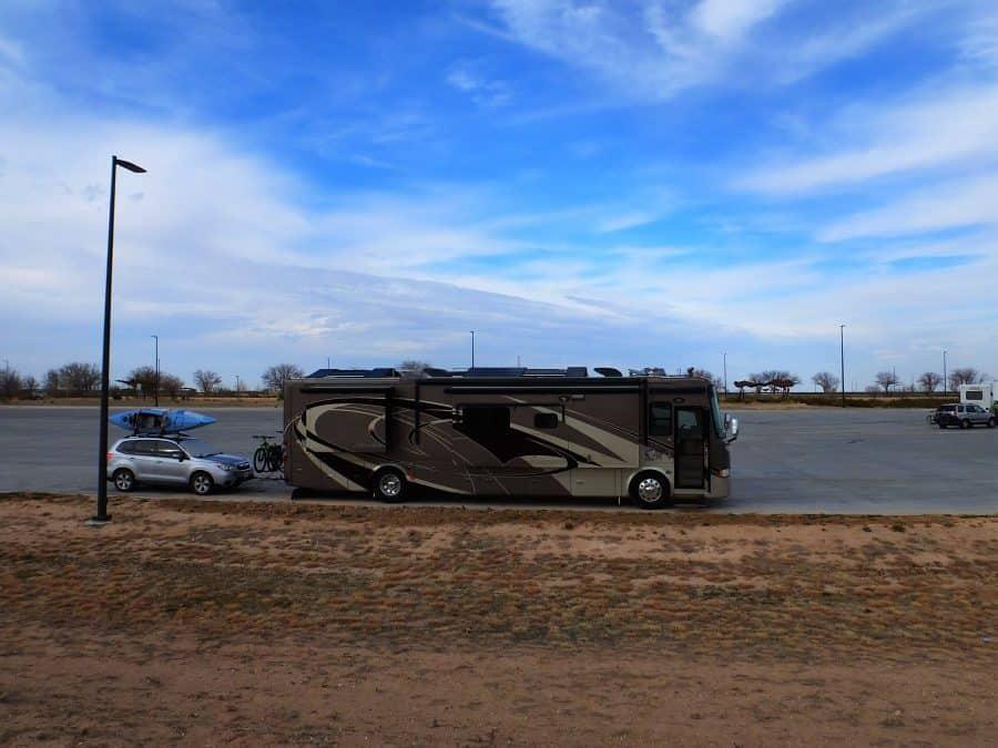 West Pecos Texas Rest Area, eastbound