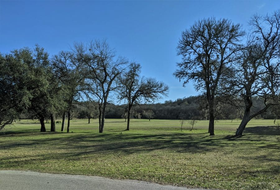 Lockhart State Park, View from our RV front window