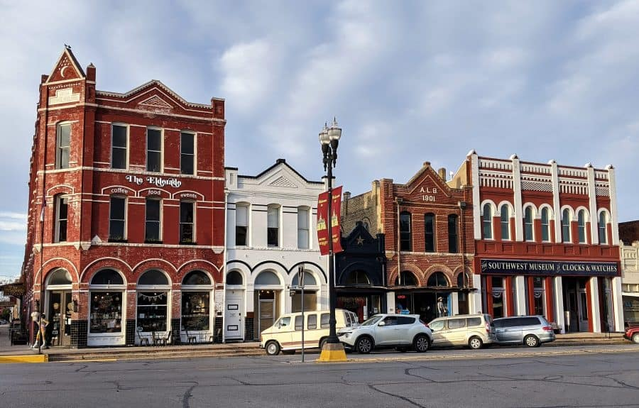 Downtown Lockhart Texas
