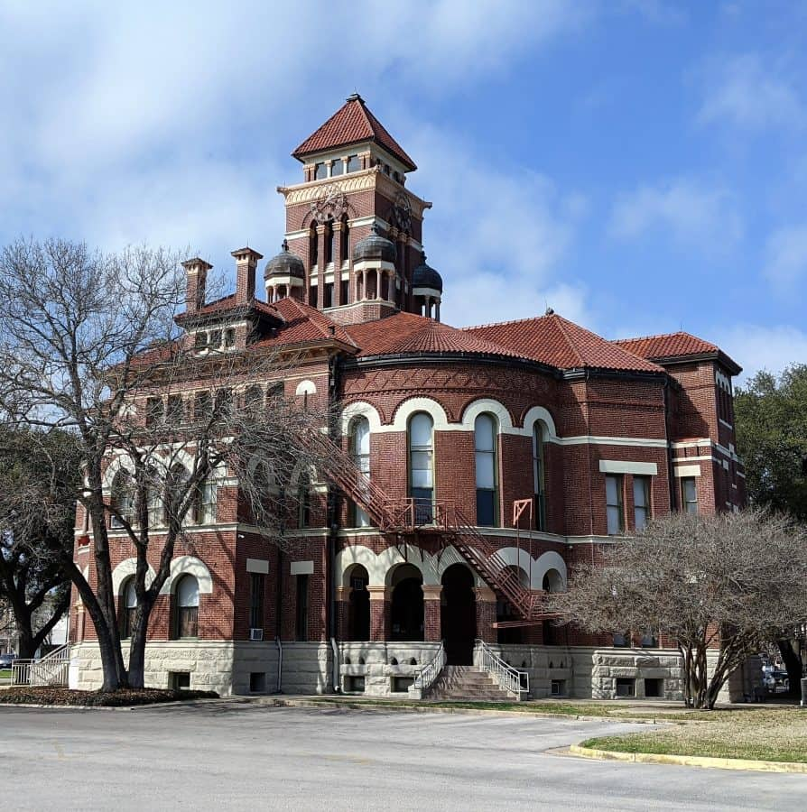 County Court House in Gonzales