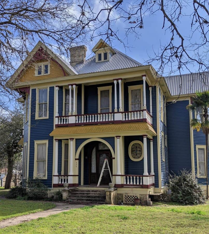 Restored house in Gonzales