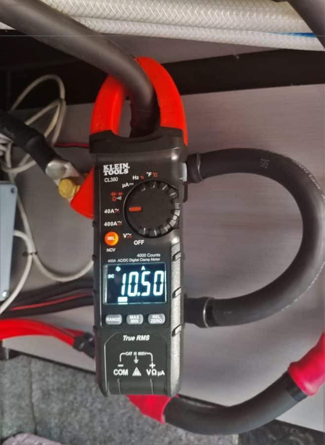 Klein Volt AC/DC Clamp Meter