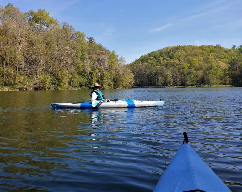 Kayaking on Standing Stone Lake