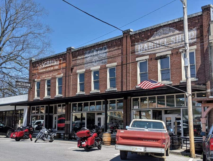 Downtown Lynchburg Tennessee