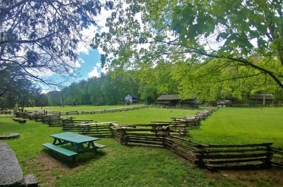 Open farm at Museum of Appalachia