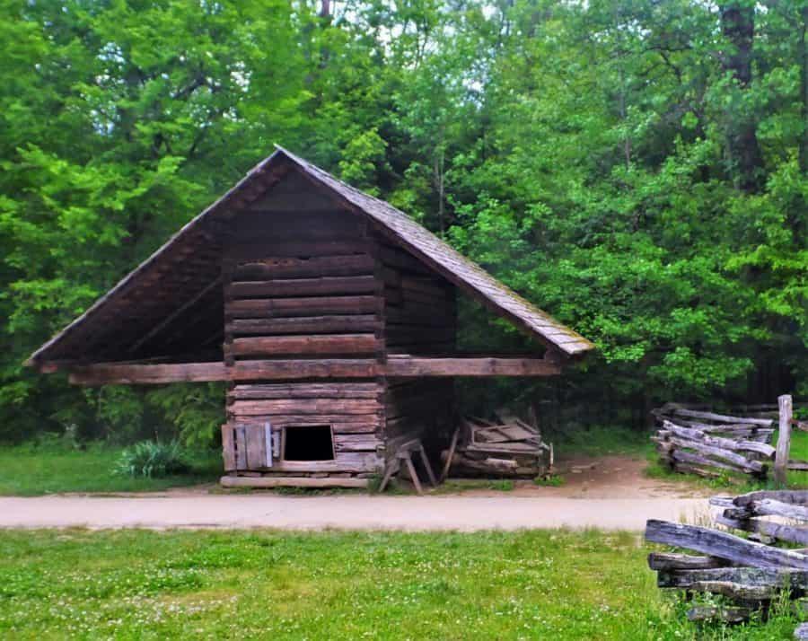 Smokehouse in Great Smoky Mountain National Park
