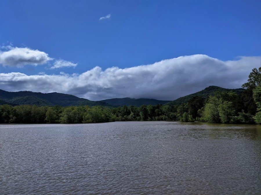 Cove Lake at Cove Lake State Park.