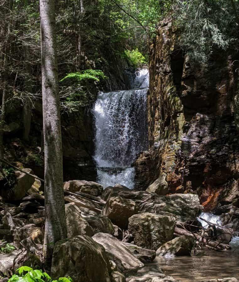 Triple Falls Trail on Bruce Creek