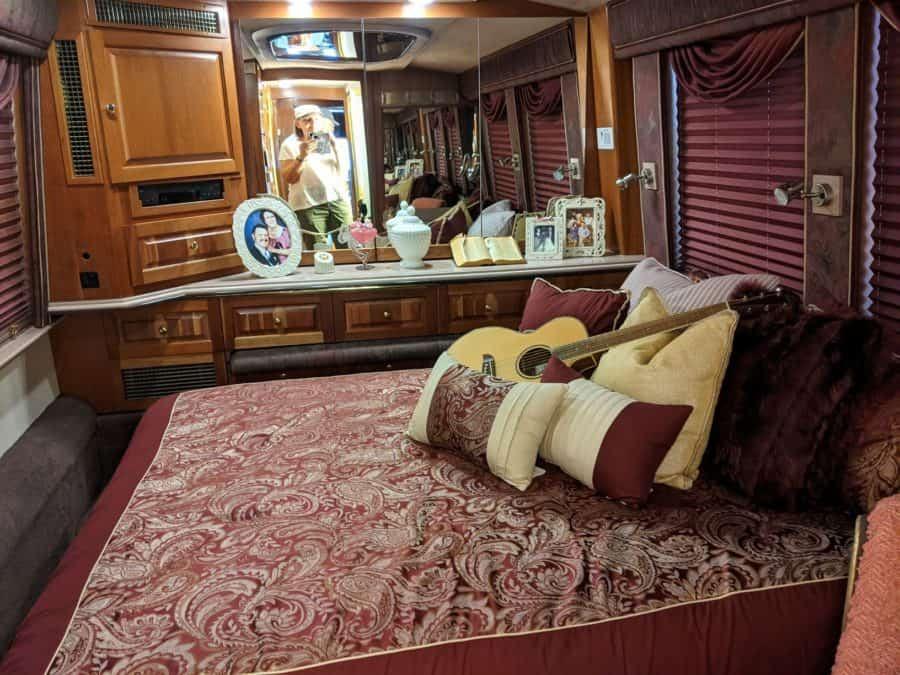 Dolly Parton's tour bus.