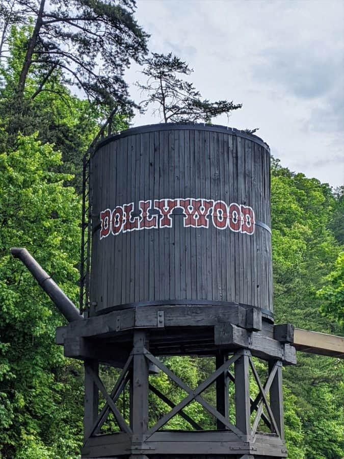 Watertower at Dollywood
