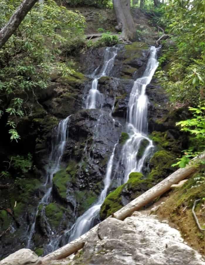 Cataract Falls. A treasure in the Smoky Mountains.